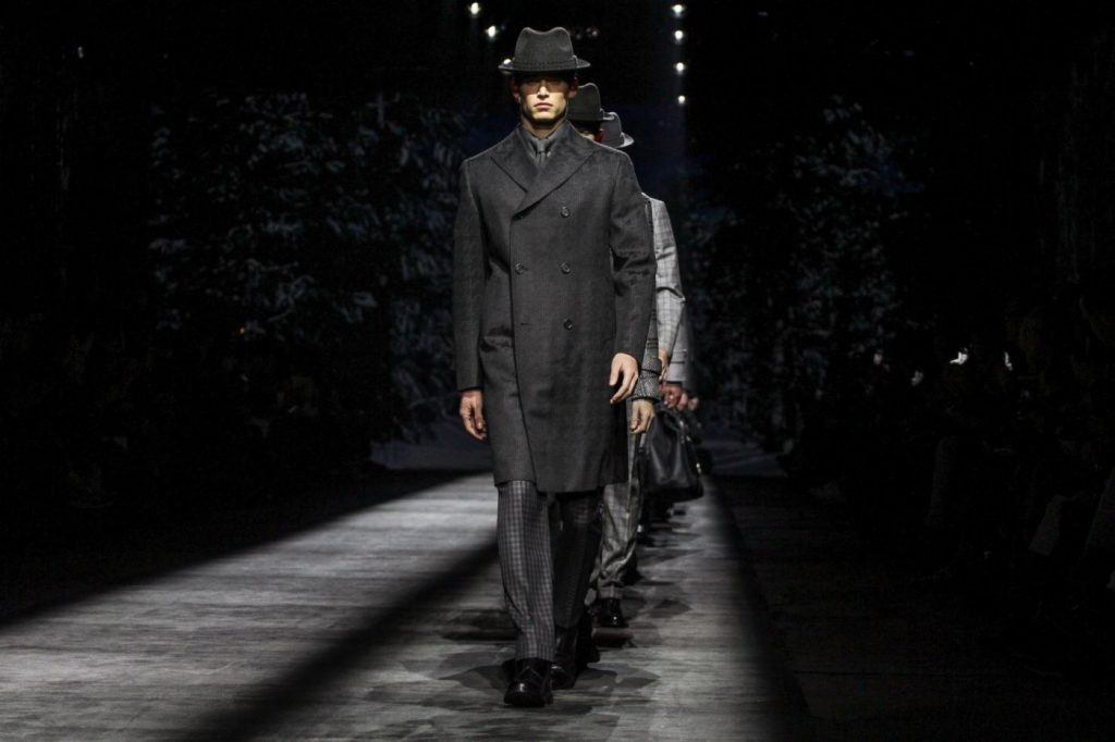 Sfilata Brioni, Milano Moda Uomo