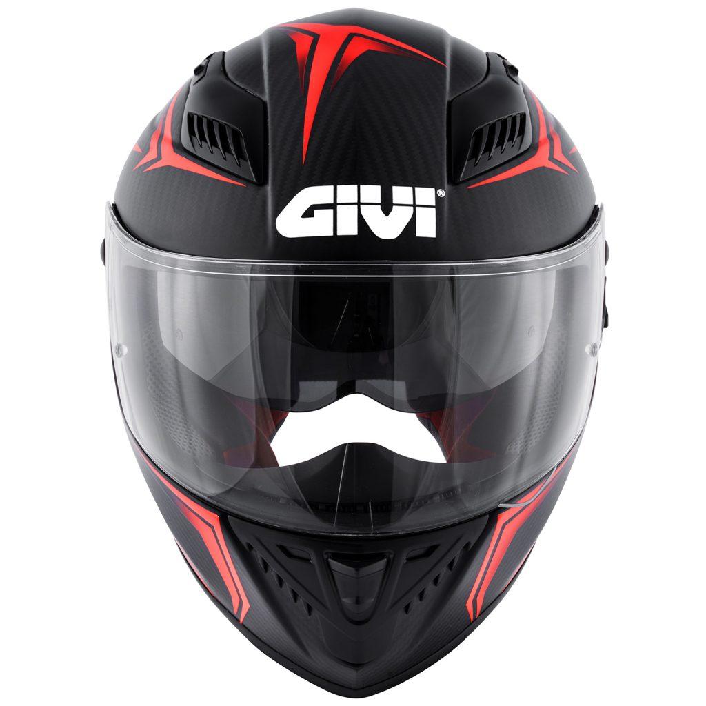 Il casco 40.5 X-Carbon dell'azienda bresciana Givi