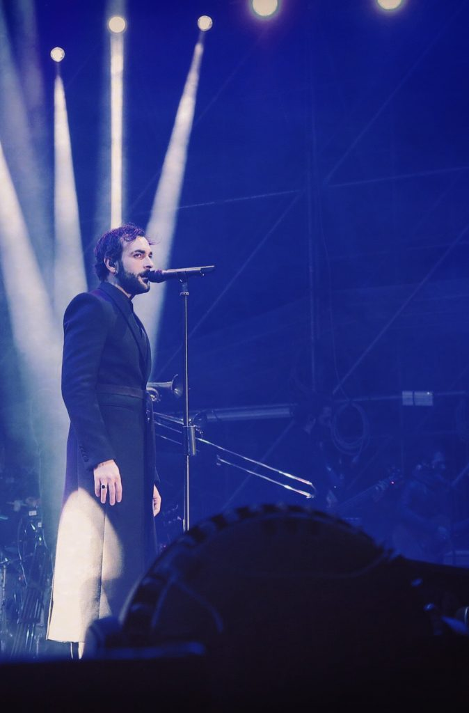 Marco Mengoni in Givenchy