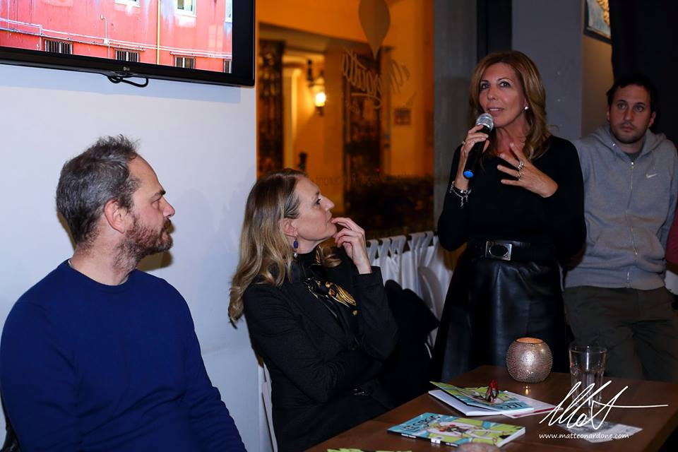 Mauro Sgarbi, Francesca Barbi Marinetti e Tina Vannini