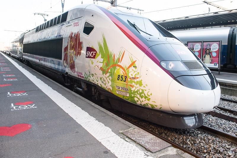 Carrozza del nuovo TGV