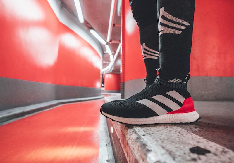 Sneaker nate per correre, ma ispirate al calcio