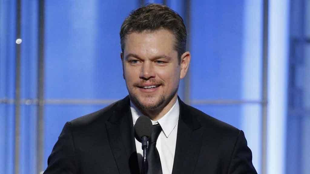 Matt Damon a Davos: 'Acqua pulita per tutti'