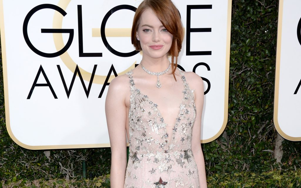 Emma Stone ai Golden Globe Awards