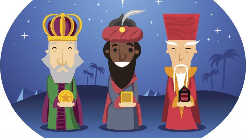 Re Magi: una simpatica decorazione per l'Epifania