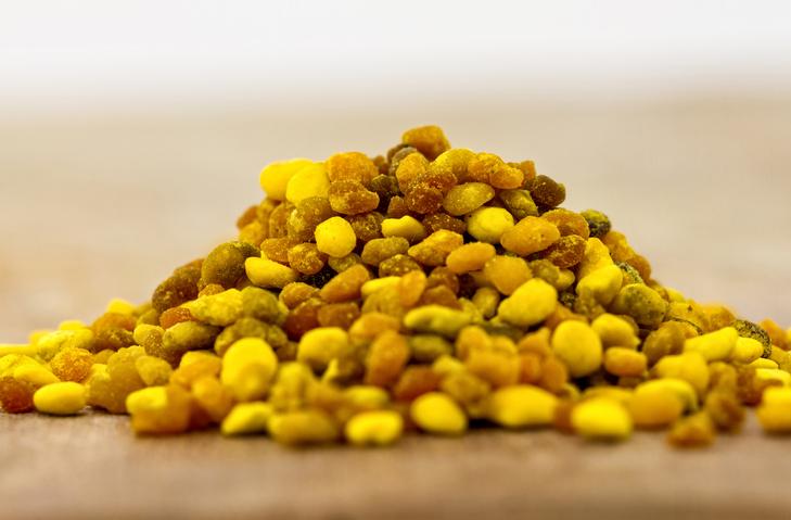 Granelli di polline d'api