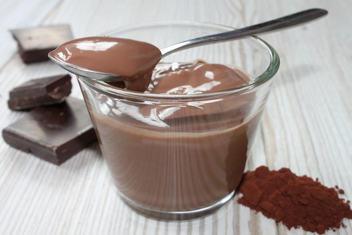 budino al cioccolato vegan