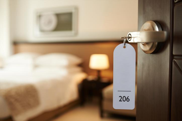 Batteri e germi nelle camere d'albergo