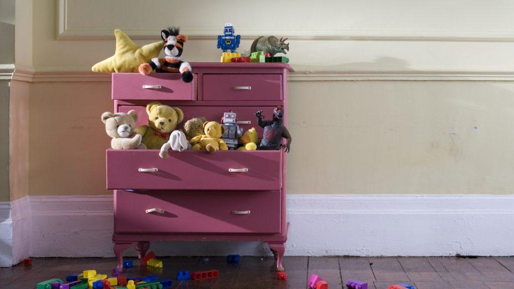 Giocattoli dei bambini: come tenerli in ordine