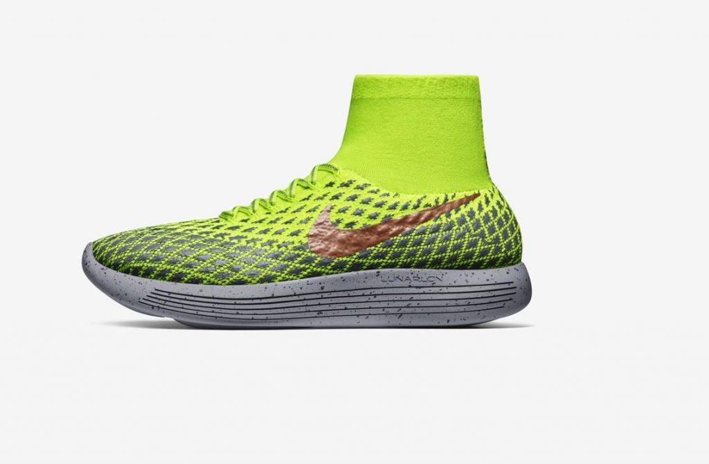 Le LunarEpic Flyknit Shield di Nike, destinate ai runners