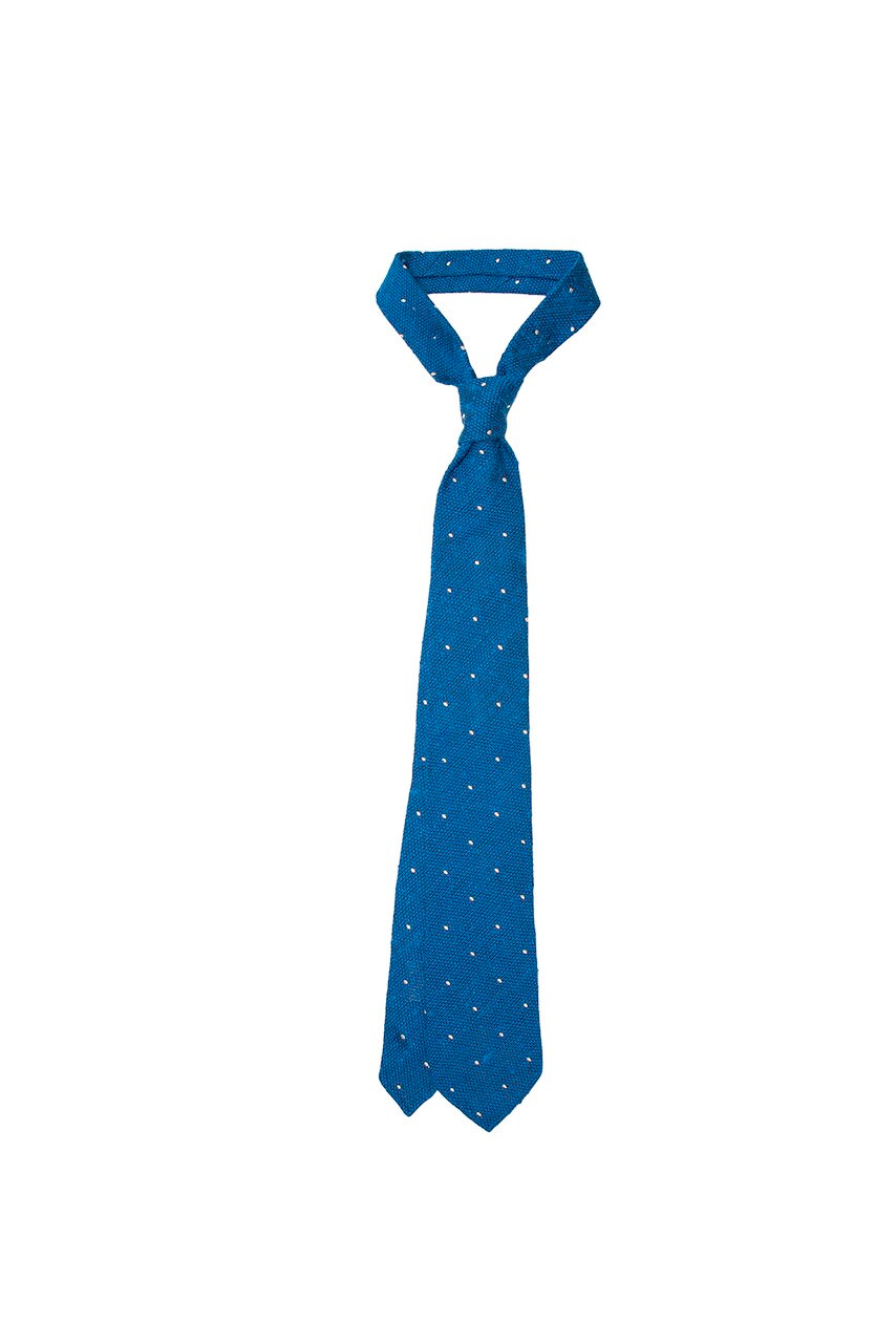 Cravatta a pois Masel
