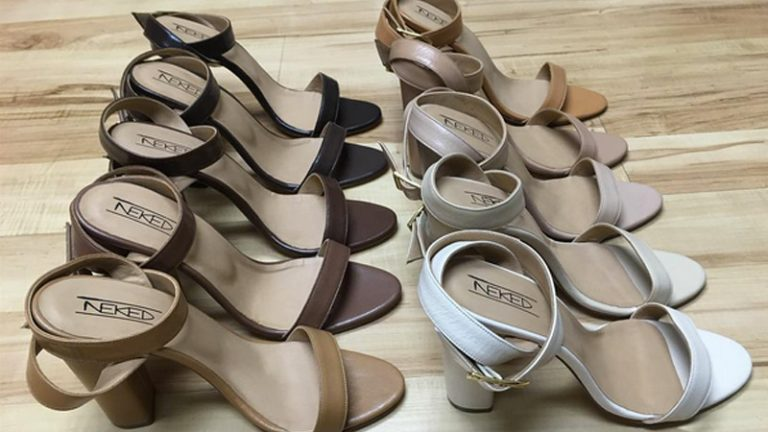 Black entrepreneur launches the most diverse and inclusive luxury skintone line of women's shoes