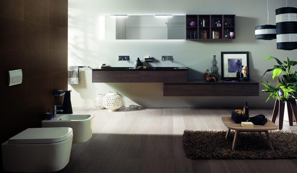 Soggiorno In Stile Classico : Un bagno bello e confortevole come salotto stile