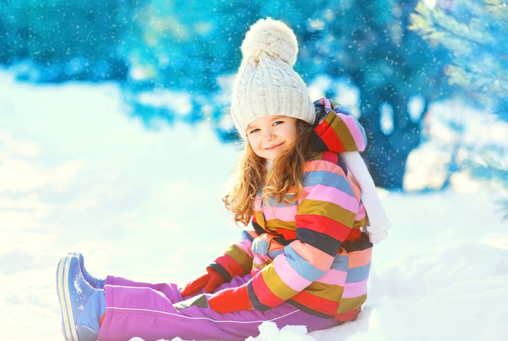 Capi anti-freddo: come vestire i bambini in inverno