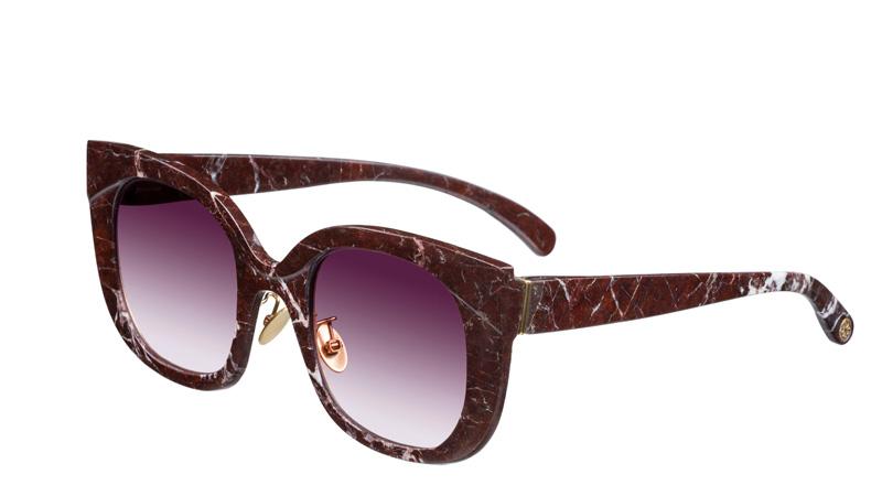 occhiali rosso passione per san valentino