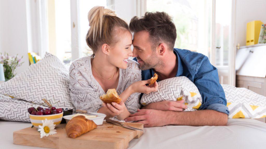 Colazione a letto, piccoli gesti d'amore