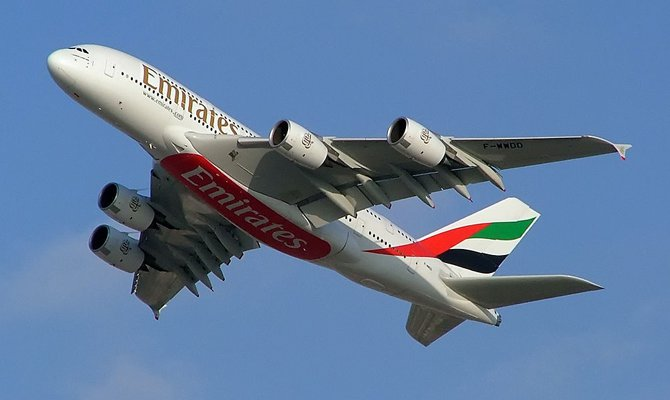 Emirates aeromobile