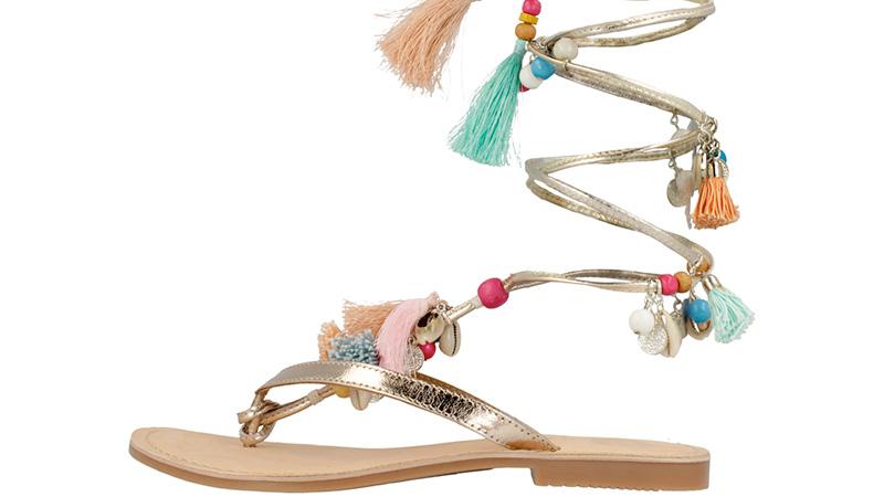 Sandali spumeggianti Gioseppo