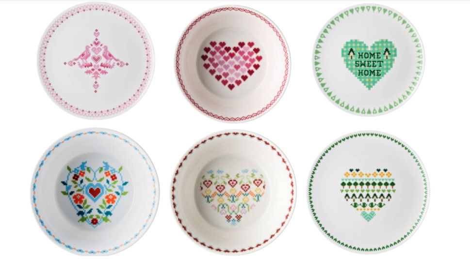 Rosenthal - collezione Hearts di Hutschenreuthert
