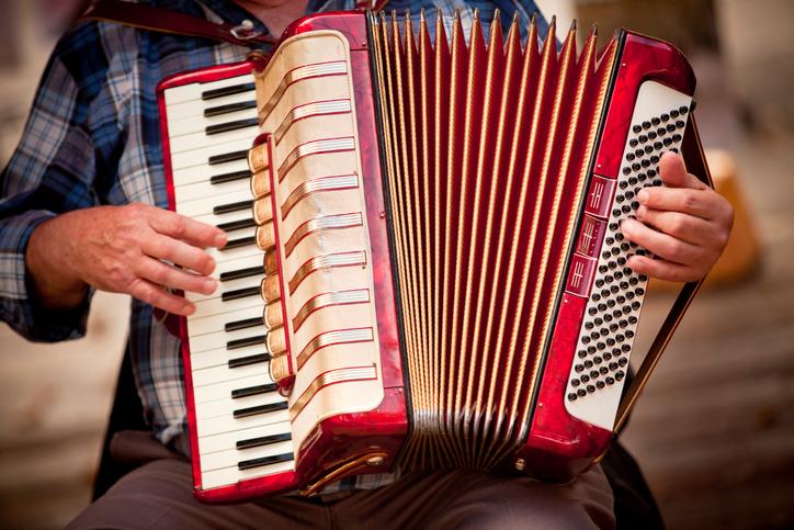Romagna, musica con la fisarmonica