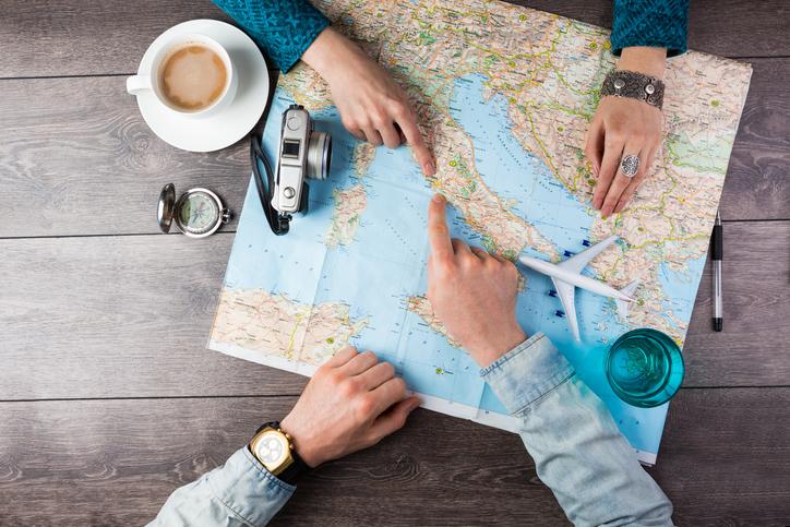 Pianificare la prima vacanza insieme