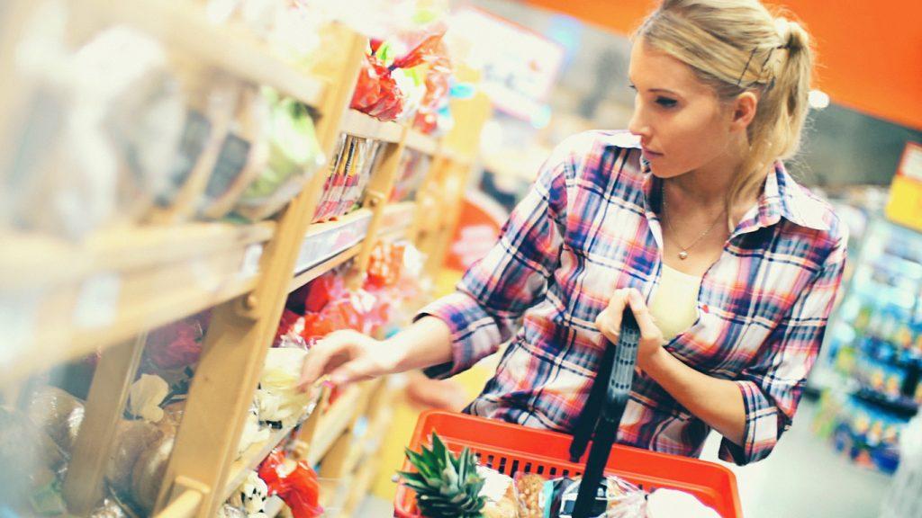 contenitori spesa e clienti