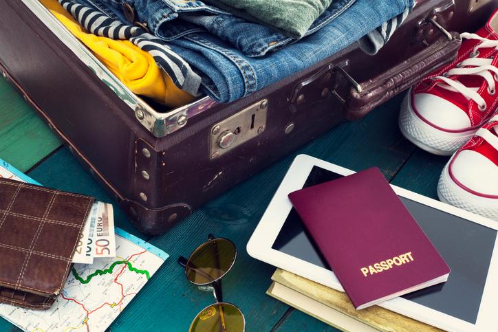 Viaggiare, le cose utili da portare