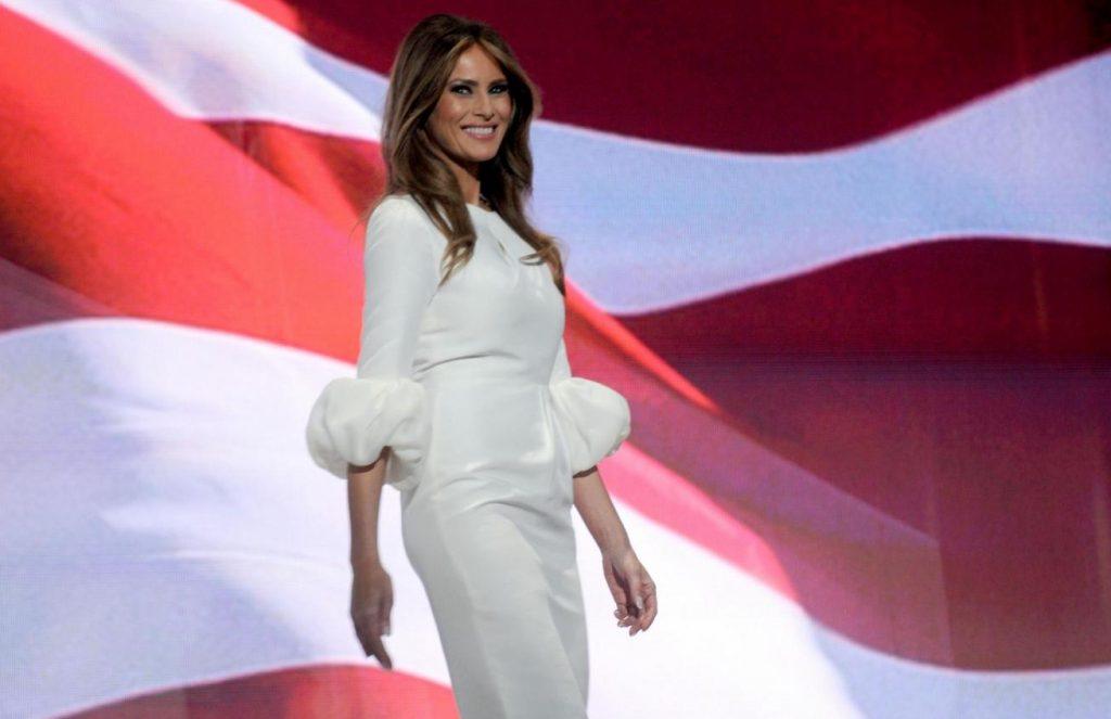 La first lady e il linguaggio del corpo