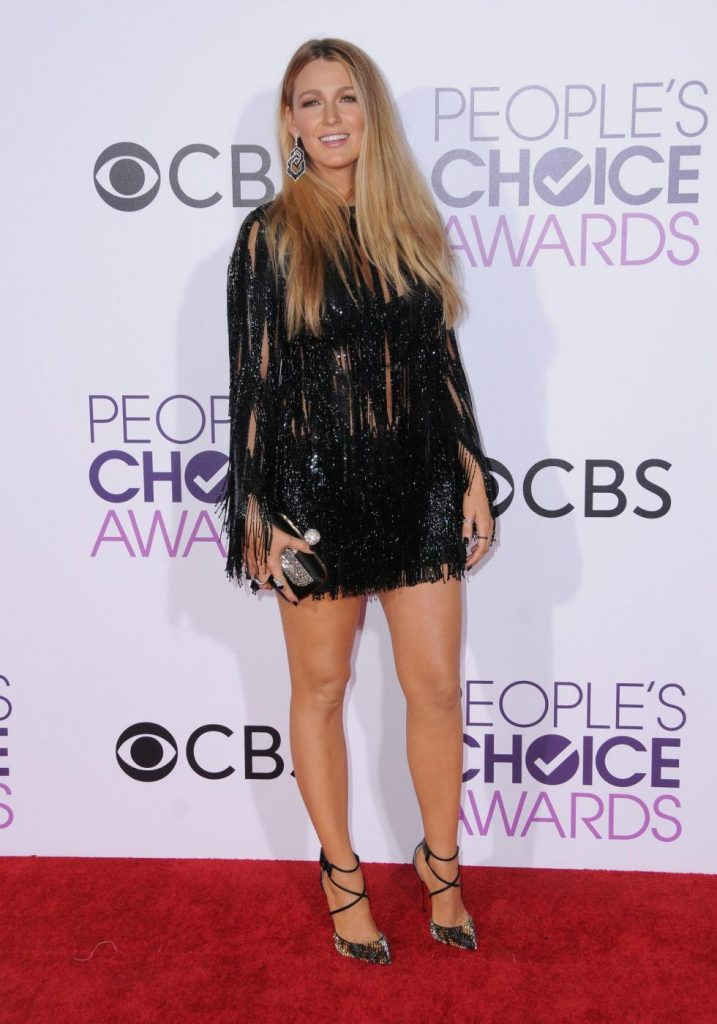 Blake Lively ai People's Choice Awards