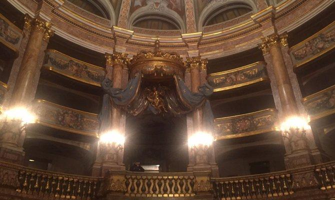 Reggia di Caserta, riapre il Teatro di Corte