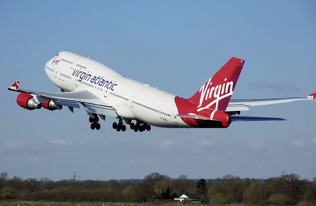 Aeromobile della Virgin Atlantic