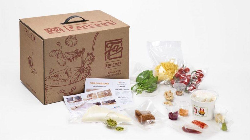 Food delivery: cucina stellata a domicilio