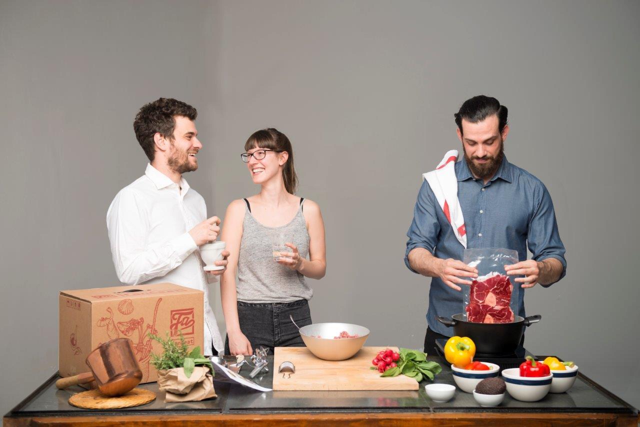 Cucinare con i box di Fanceat