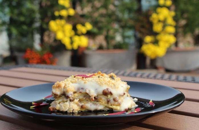 """Ricetta """"veg"""": pasticcio goloso con lenticchie"""
