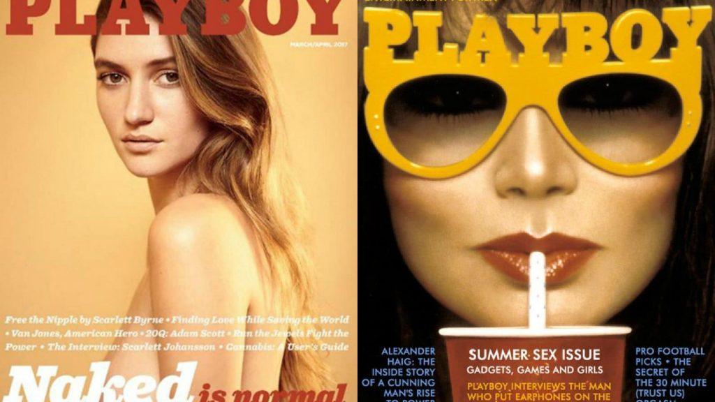 La storia di Playboy in venti copertine
