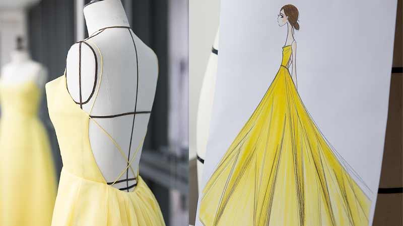 Emma Watson, abito Dior