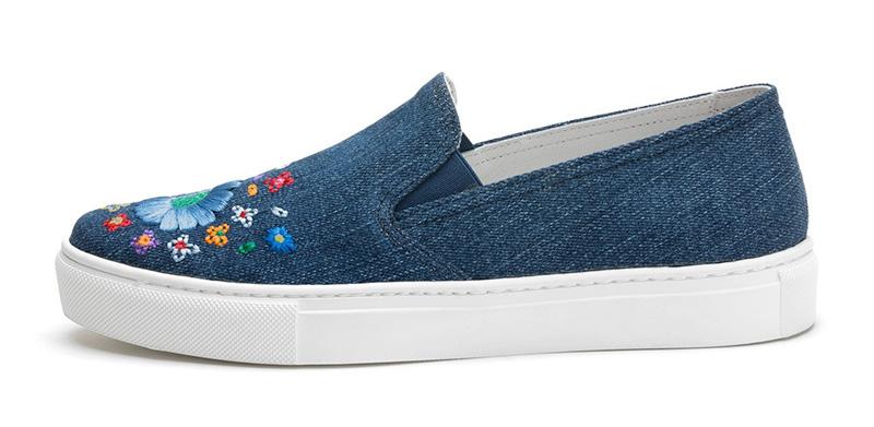 Denim Shoes Frau