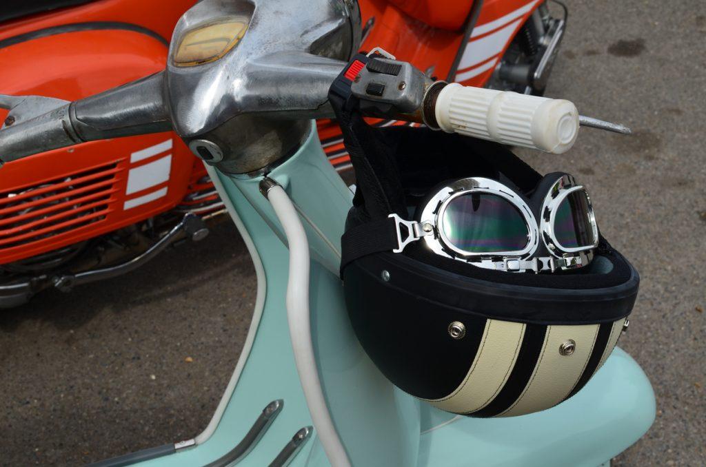 casco dello scooter