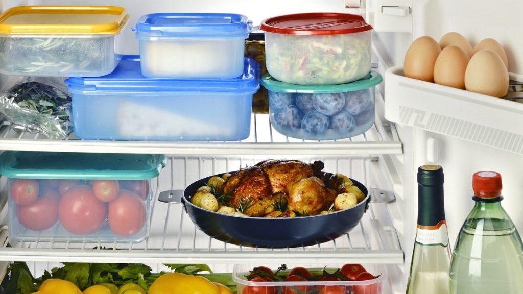 frigorifero ordinato