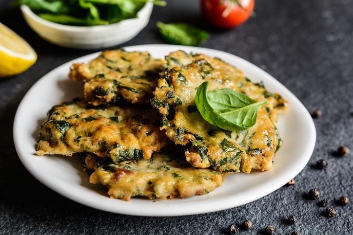 Ricette Verdure Vegane.Frittelle Salate Di Verdura Ricetta Vegan Www Stile It