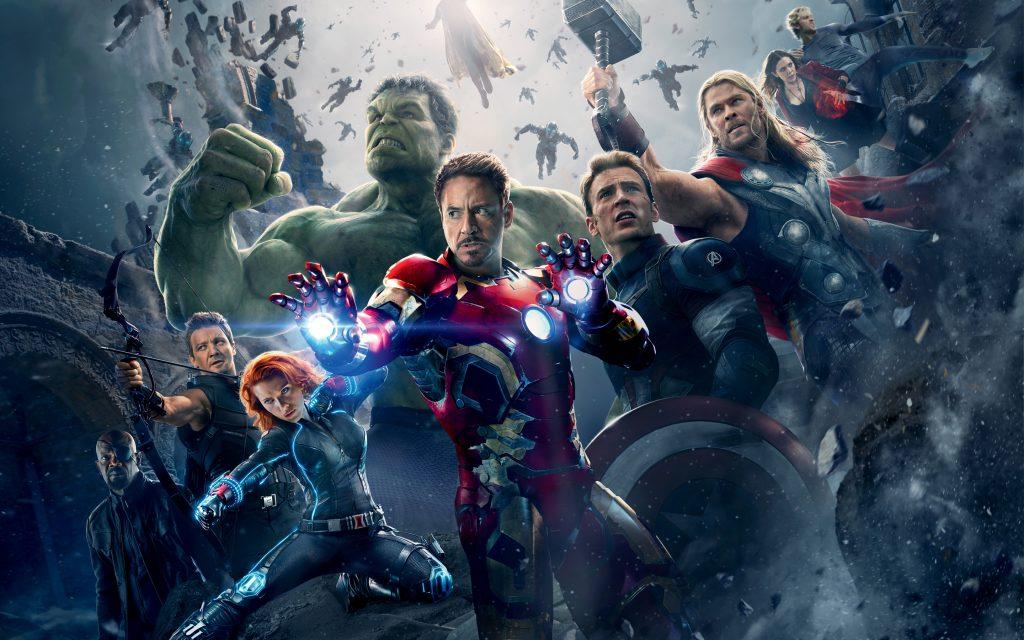Il cast di Avengers ieri e oggi
