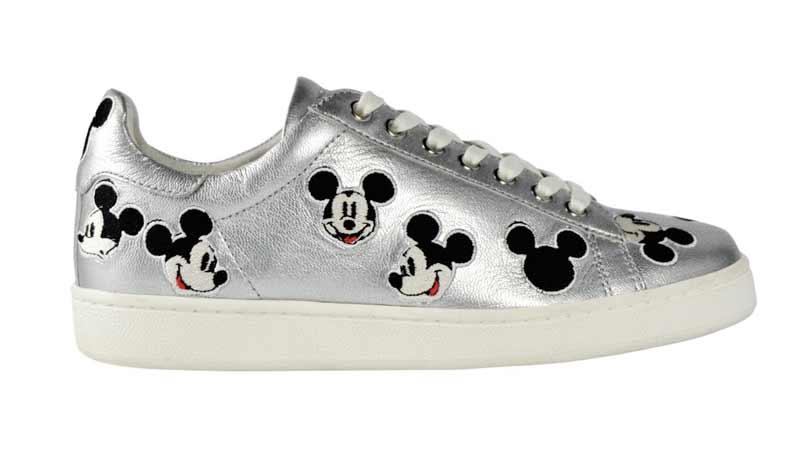 ... SNEAKERS GLITTER BLACK GLITTER NERO TOPOLINO  Disney ... 8bda25cea13