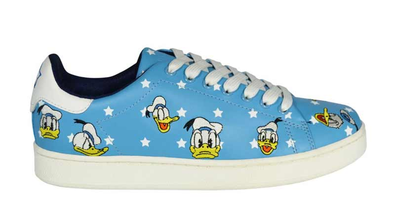 Sneaker Donald Duck by MOA Master of Arts