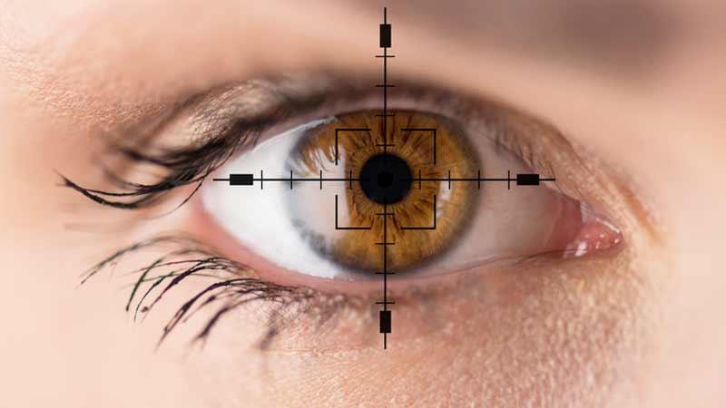 occhi e personalità