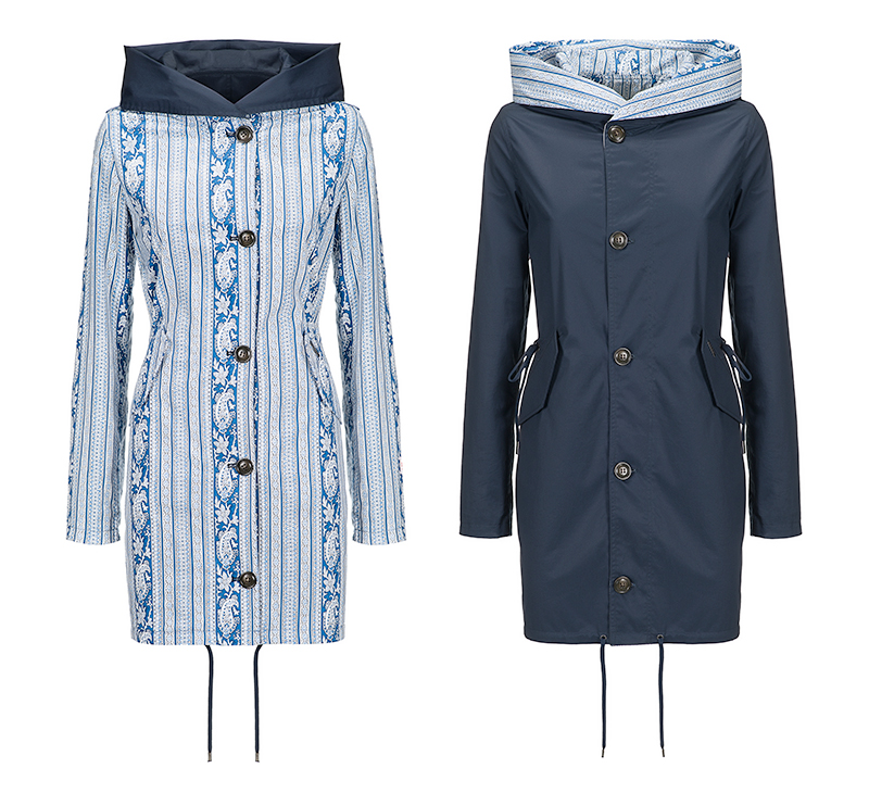 Country chic giacca Woolrich