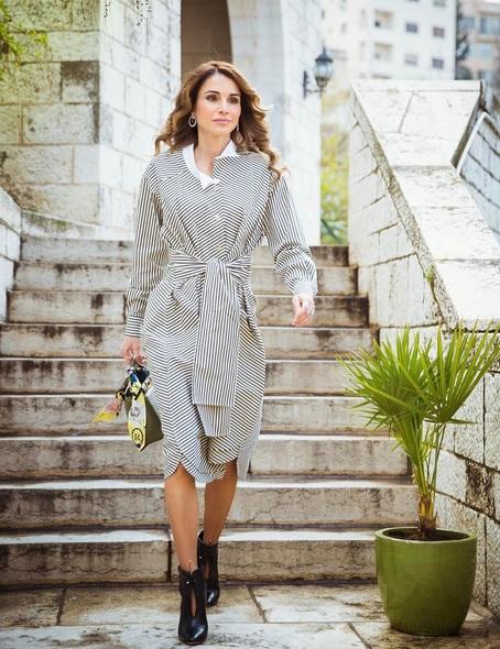 Rania di Giordania -Courtesy of Instagram @queenrania