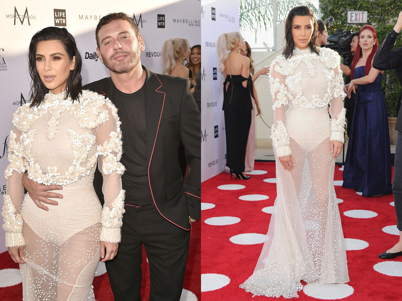 Kim Kardashian (s)vela un sensuale nude look