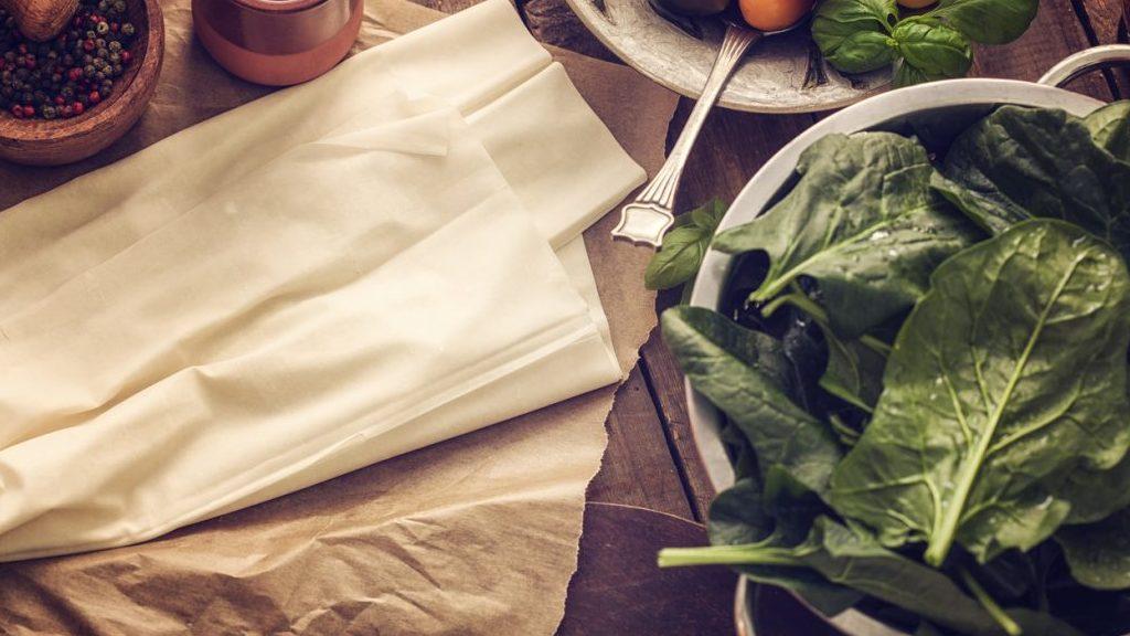 Sfoglia e spinaci