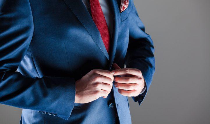 bottoni su giacca uomo storia