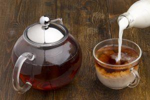 Tè con il latte
